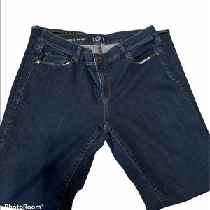 ANN Taylor Jeans dark blue denim